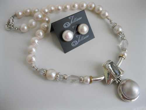Award Winning Mabe Pearl Necklace
